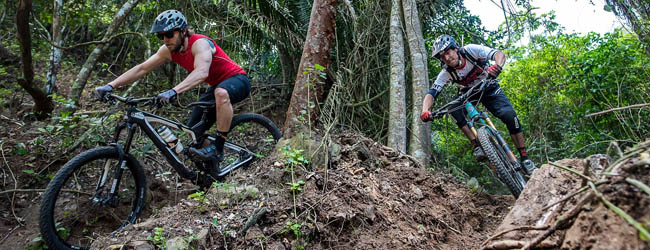 Mountain biking in Sayulita on exciting jungle trails