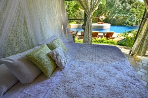 kissing garden villas at amor boutique hotel in Sayulita, Mexico