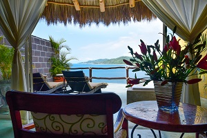 Premium ocean villas at amor boutique hotel in Sayulita, Mexico