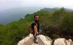 Hiking monkey mountain near Sayulita