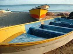 sayulita fisher boats locals beach