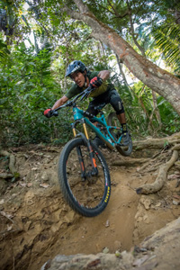 Mountain bike trails in Sayulita, Nayarit, Mexico