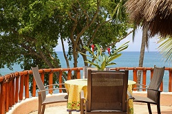 Serena beachfront rental in the Las Hamacas complex on Sayulita's north side