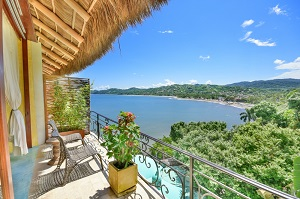 las panoramicas penthouse at amor boutique hotel in sayulita, mexico