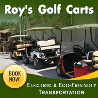 Roy's-Golf-Carts banner