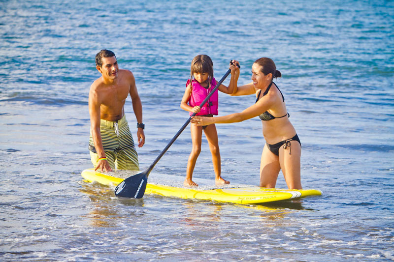 sayulita stand up paddle children