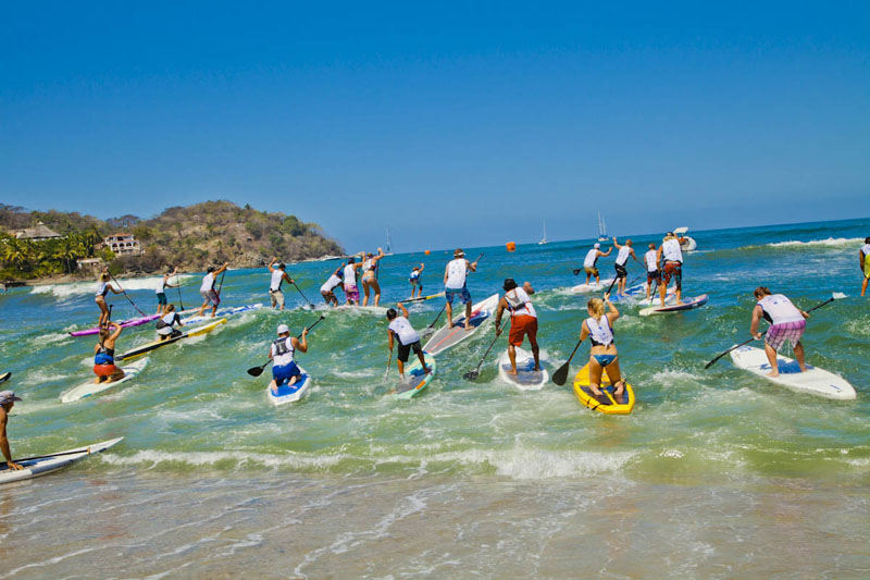 sayulita paddle boarding lessons
