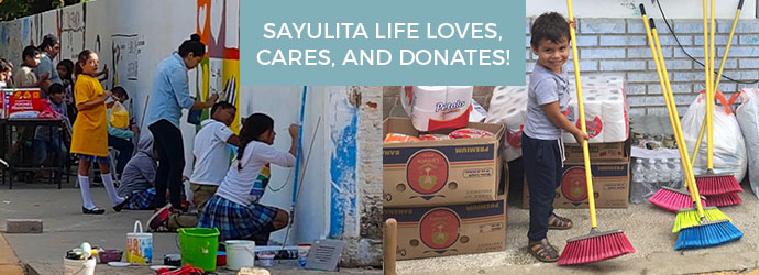 Sayulita Life Giving Back to the community image