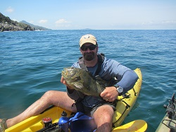 Sayulita ikayak and surf fishing