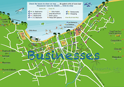 sayulita map businesses