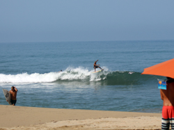 surfer in san pancho