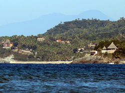 view toward san pancho from sayulita