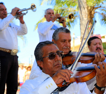 mariachis at a wedding