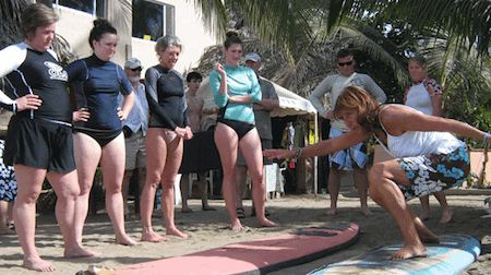 An Interview with Patricia, Long Time Surfer and Owner of Patricia's Surf School in Sayulita