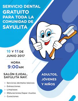 Free Upcoming Dental Clinic for Locals in Sayulita