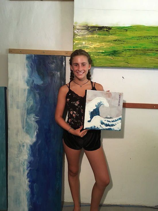 Z Galeria: Learn Encaustic Painting