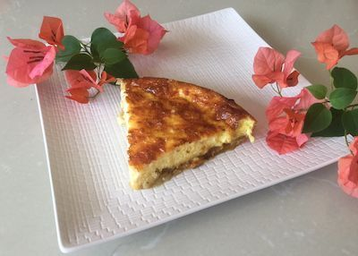 Live, Love, & Eat in Sayulita: Crustless Apple Curry and Nutmeg Quiche